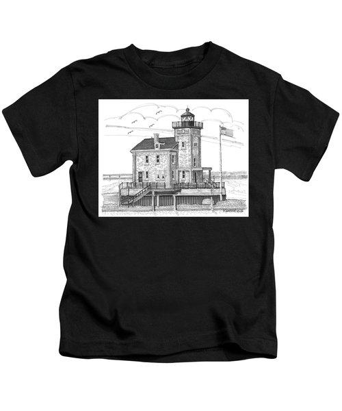 Rondout Lighthouse Kids T-Shirt