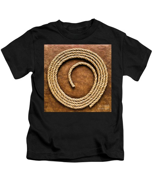 Rope On Leather Kids T-Shirt