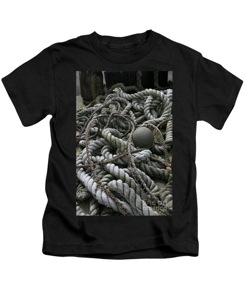 Ropes And Lines Kids T-Shirt