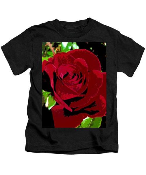 Rose Bloom Kids T-Shirt