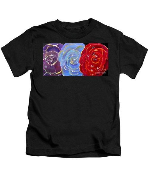 Rose Medley Kids T-Shirt
