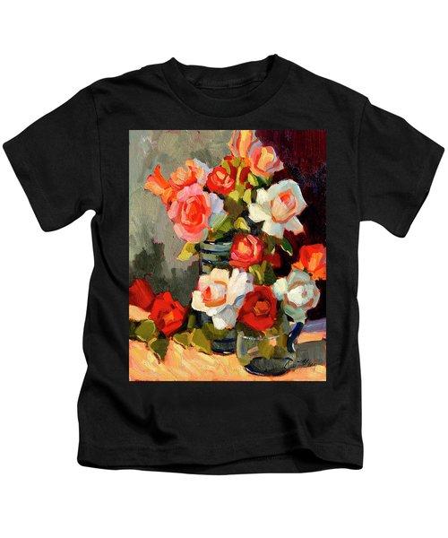 Roses From My Garden Kids T-Shirt