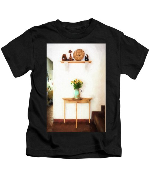 Rose's On Table Kids T-Shirt