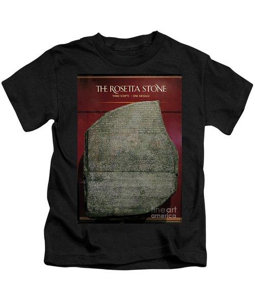 Rosetta Stone Replica Kids T-Shirt