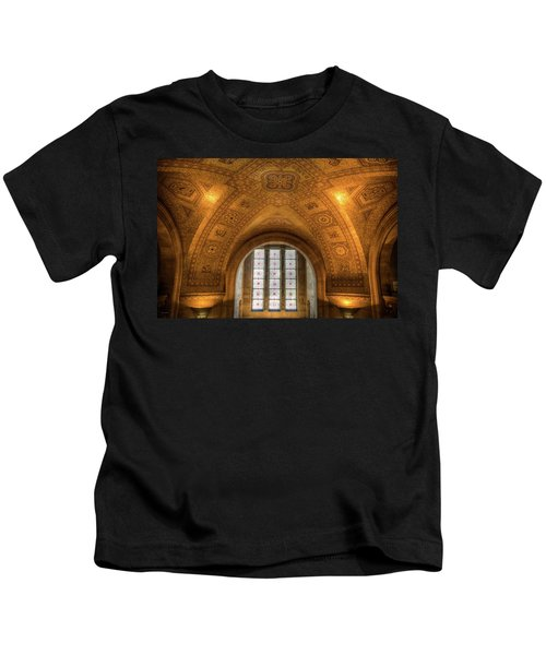 Rotunda Ceiling Royal Ontario Museum Kids T-Shirt
