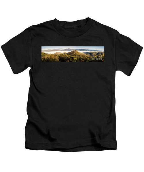 Round Mountain Lookout Kids T-Shirt