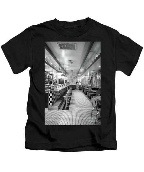 Route 66 Diner  Kids T-Shirt