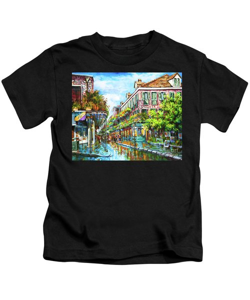 Royal At Pere Antoine Alley, New Orleans French Quarter Kids T-Shirt