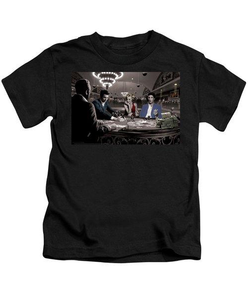 Royal Flush Kids T-Shirt by Chris Consani