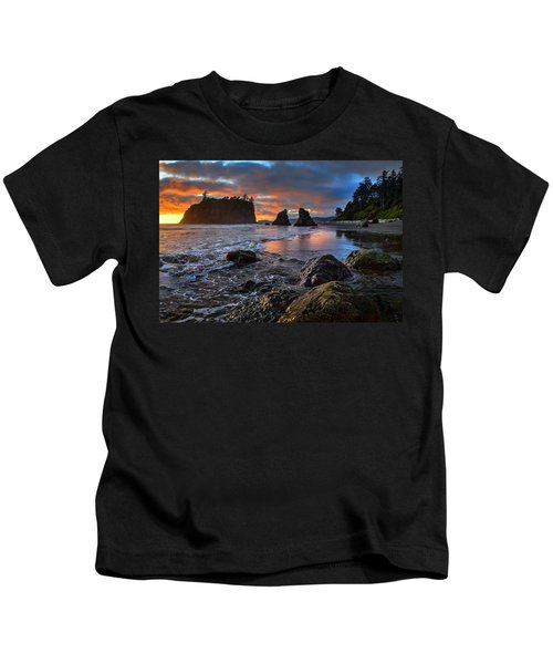 Ruby In The Rough At Sunset Kids T-Shirt