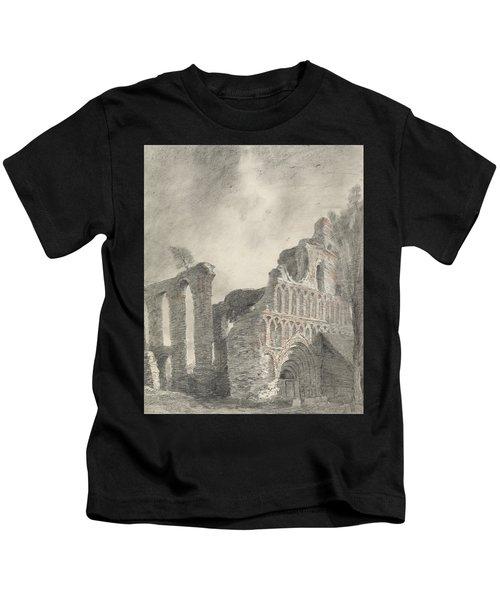Ruin Of St Botolph's Priory Kids T-Shirt