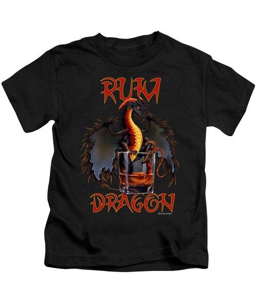 Rum Dragon Kids T-Shirt