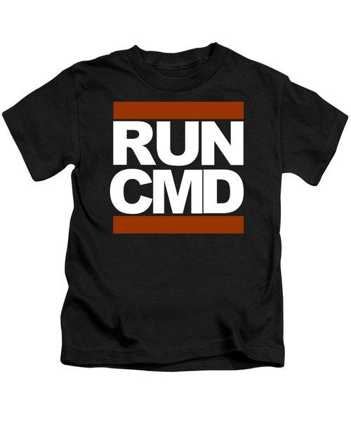 Run Cmd Kids T-Shirt