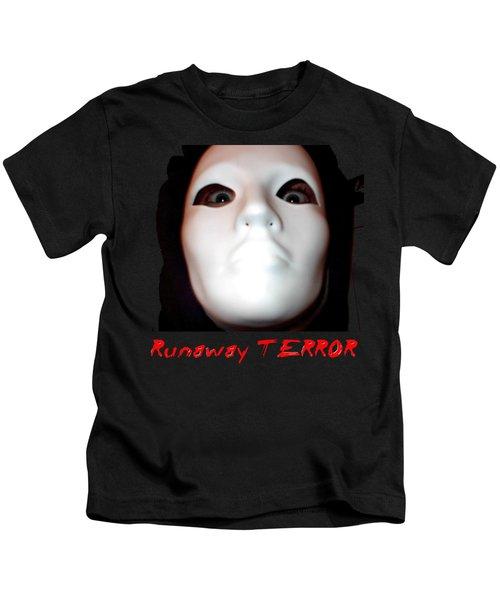 Runaway Terror 3 Kids T-Shirt