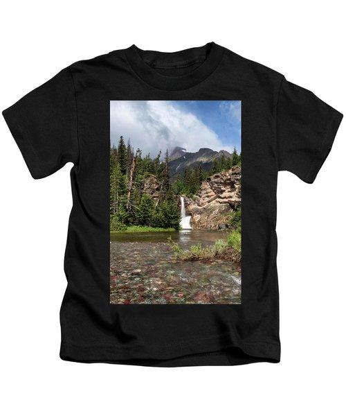 Running Eagle Falls Kids T-Shirt
