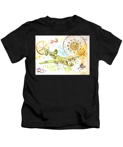 Running Out Of Time Kids T-Shirt