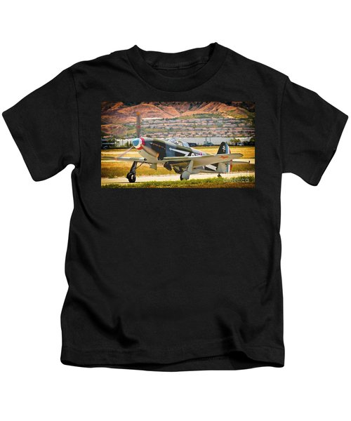 Russian Yak Fighter Kids T-Shirt