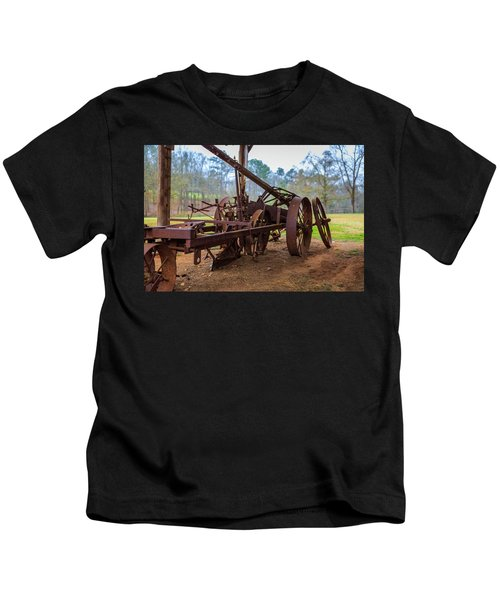 Rusty Farming Kids T-Shirt