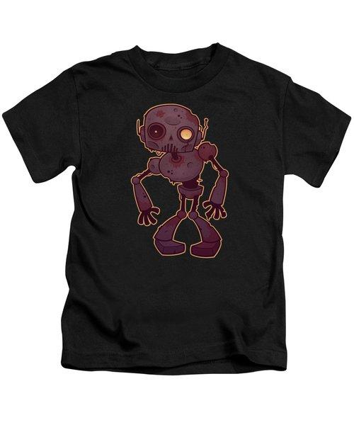 Rusty Zombie Robot Kids T-Shirt