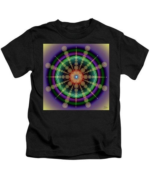 Sacred Geometry 652 Kids T-Shirt