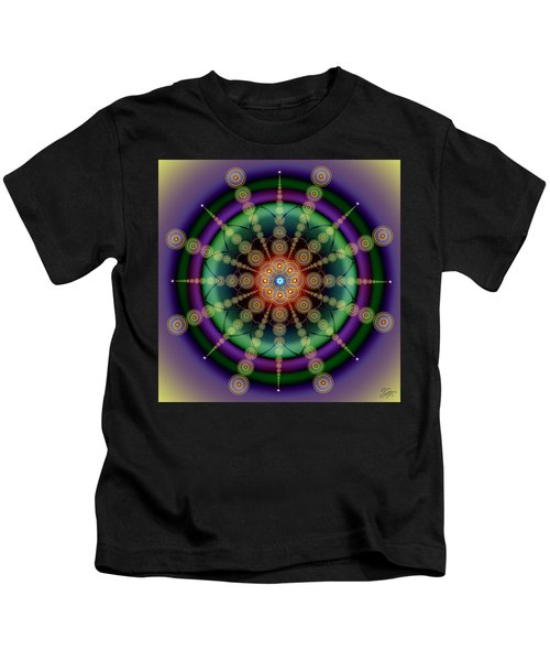 Sacred Geometry 652 Kids T-Shirt