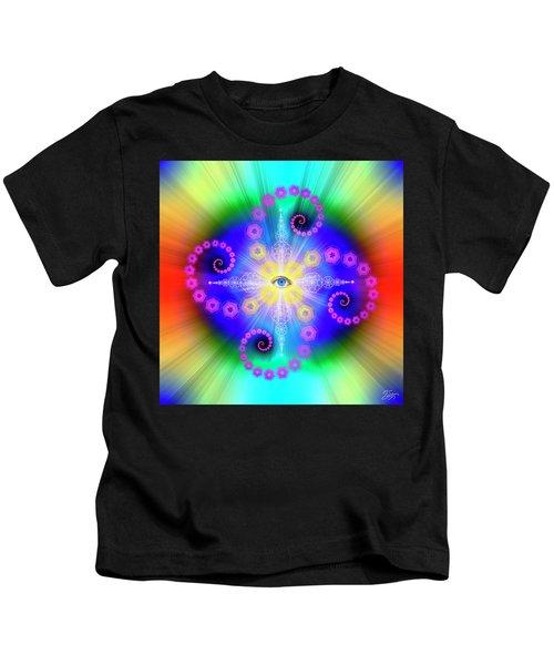 Sacred Geometry 653 Kids T-Shirt