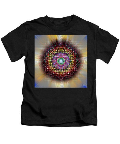Sacred Geometry 657 Kids T-Shirt
