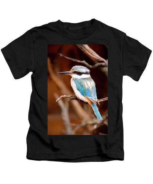 Sacred Kingfisher Kids T-Shirt