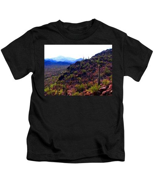 Saguaro National Park Winter 2010 Kids T-Shirt