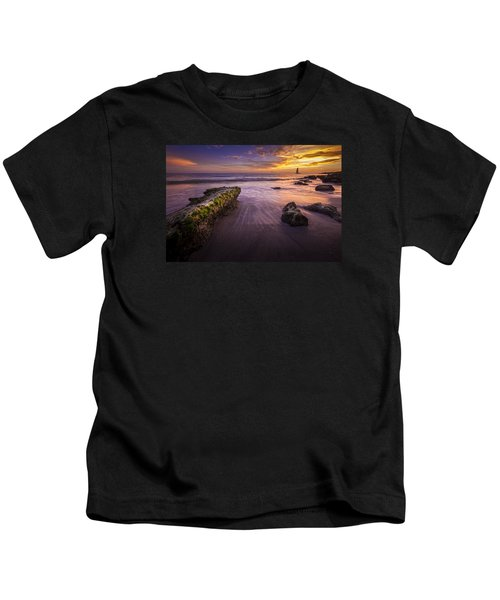 Sail Into The Sunset Kids T-Shirt