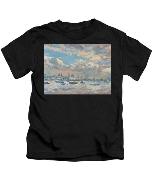 Sail Regatta On The Ij Kids T-Shirt