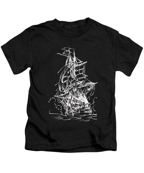 Sailing 2  Kids T-Shirt