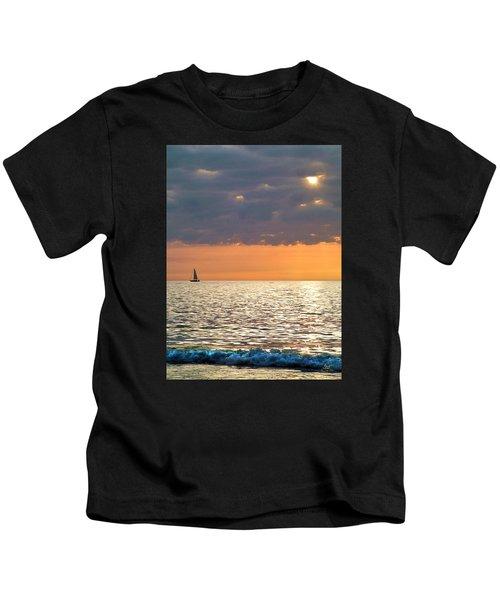 Sailing In The Sun Kids T-Shirt