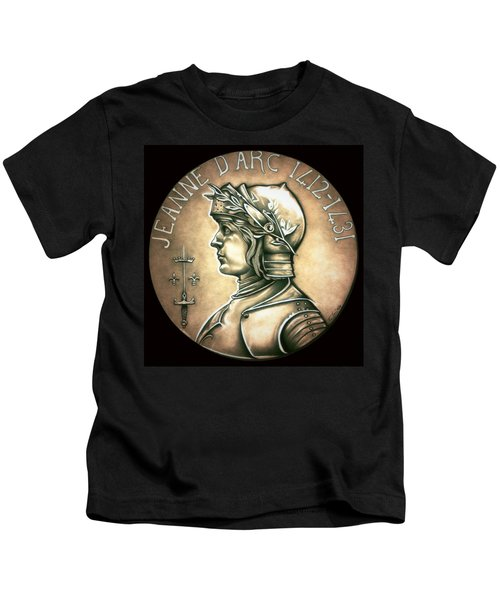 Saint Joan Of Arc Kids T-Shirt