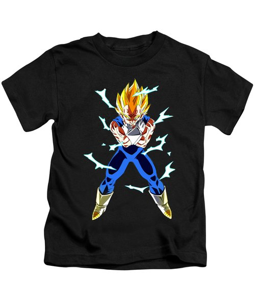 Saiyan Warriors Kids T-Shirt by Opoble Opoble