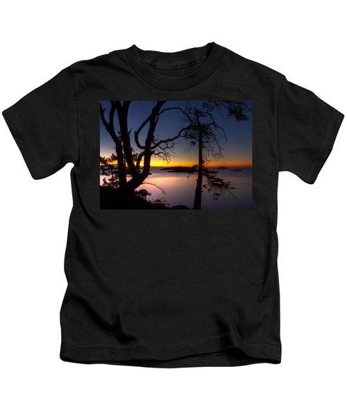 Salish Sunrise Kids T-Shirt