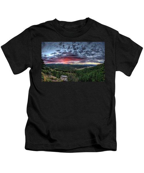 Salt Creek Sunrise Kids T-Shirt