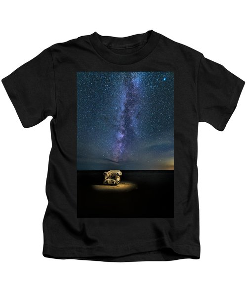 Salt Flats Milky Way Chair Kids T-Shirt