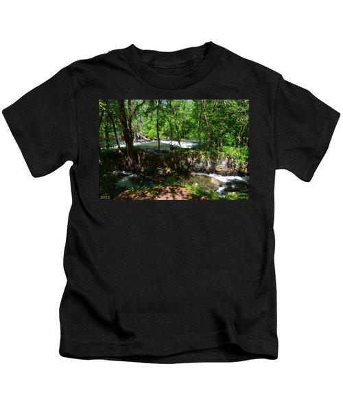 Saluda River Columbia Sc Kids T-Shirt