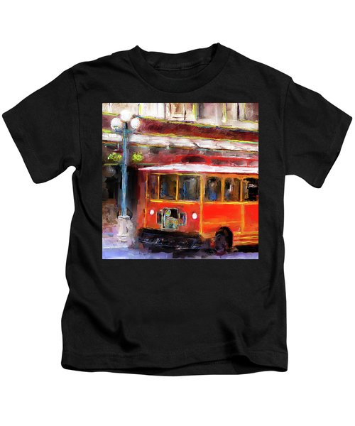 San Antonio 5 Oclock Trolley Kids T-Shirt