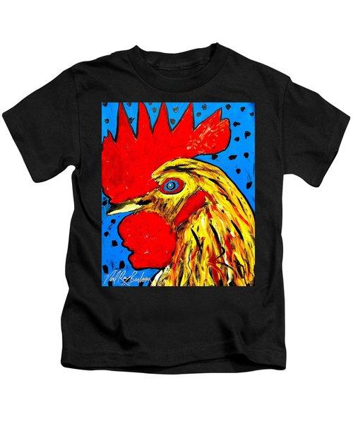 San Antonio Rooster Kids T-Shirt