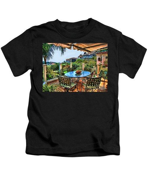 San Clemente Estate Patio Kids T-Shirt