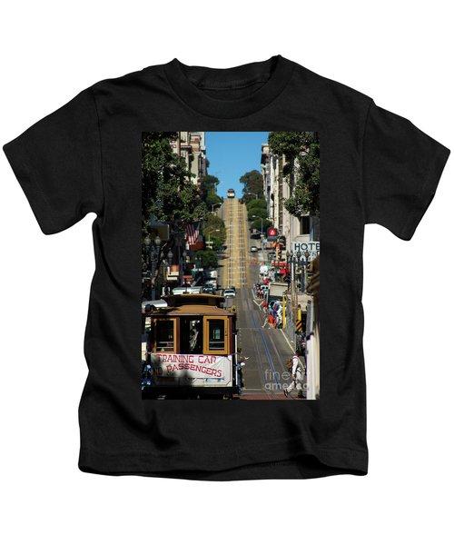 San Francisco Cable Cars Kids T-Shirt