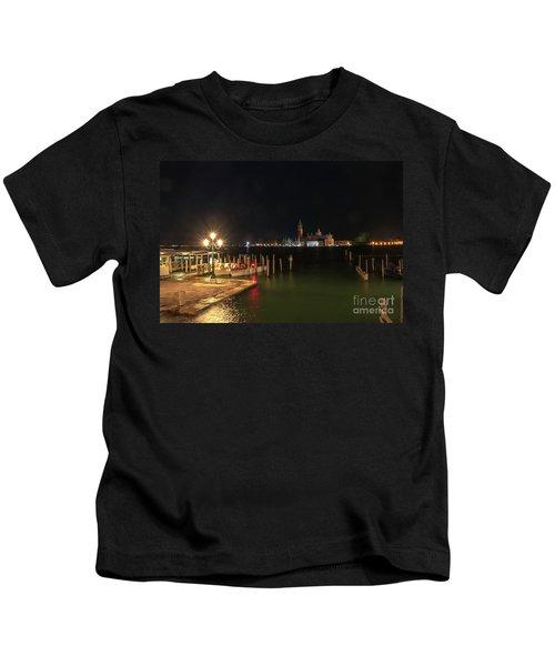 San Giorgio Maggiori At Night Kids T-Shirt