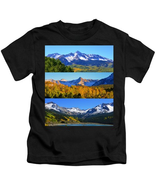 San Juan Mountains Colorado Kids T-Shirt