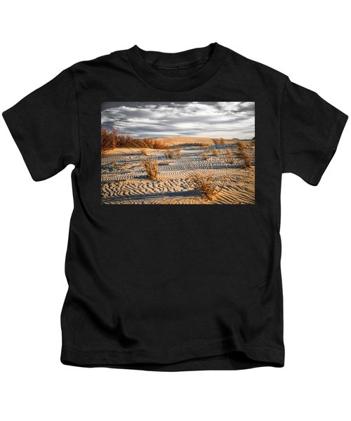 Sand Dune Wind Carvings Kids T-Shirt