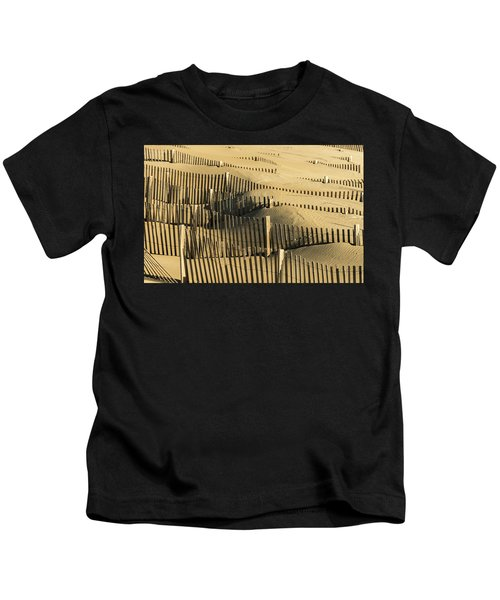 Sand Dunes Of The Outer Banks Kids T-Shirt