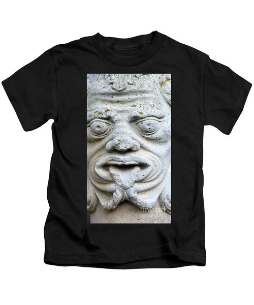 Sandstone Sculpture At The Main Entrance Of The Corvey Monastery Kids T-Shirt