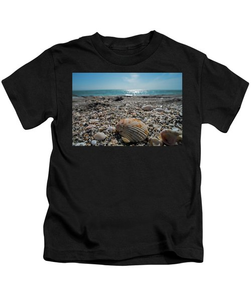 Sanibel Island Sea Shell Fort Myers Florida Kids T-Shirt