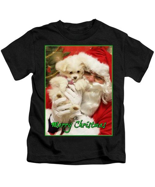 Santa Paws  Kids T-Shirt